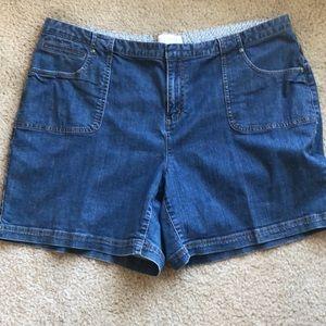 C.J. Banks 20W Jean shorts